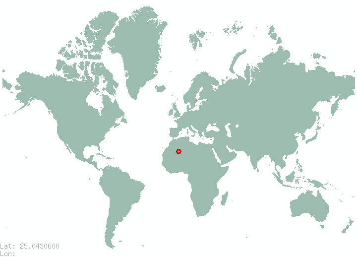 Songshan in world map
